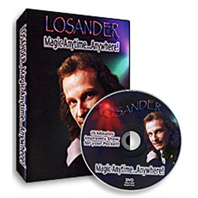 Magic Anytime Anywhere by Dirk Losander - DVD