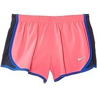Nike Tempo Short - Pantalón corto para niña, color rosa/azul / blanco, talla XL