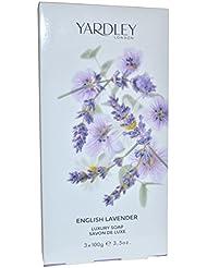 Yardley - english Lavender - Savon - 3 x 100 g