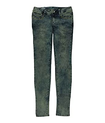 Bullhead Denim Co. Womens Premium Destroy Skinniest Skinny Fit Jeans