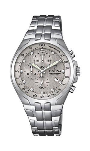 Festina Herren-Armbanduhr Chronograph Quarz Edelstahl F6843/2