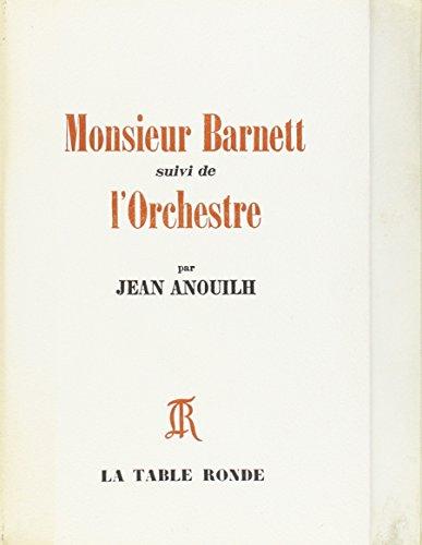 Monsieur Barnett (livre non massicoté)