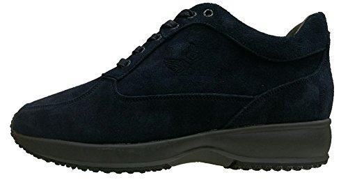 Avirex - Avirex Gunny Sneakers Comfort Camoscio Modello Hogan Uomo Blu 2017 - 162.M.268 11 - 43, Blu