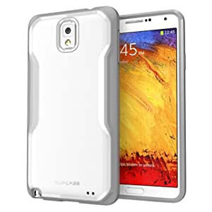 SUPCASE Samsung Galaxy Note 3/Note III Unicorn Beetle Premium Hybrid Case (White/Gray) - Not Fit Samsung Galaxy Note 2/Note II N7100
