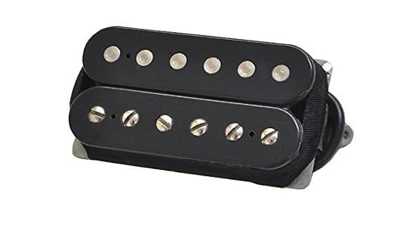 663334041875 DiMarzio DP256FBK Illuminator Neck Humbucker Pickup Black F-Spaced w//Bonus RIS Picks x3