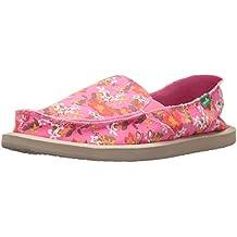 Sanuk Sidewalk Surfer Wmn Donna Aloha paradise pink waikiki floral