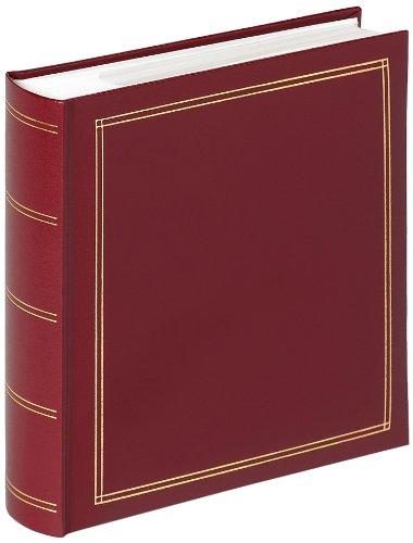 Walther design me-138-r album ad inserimento per bambini per 200 foto, pvc, rosso, 21 x 5 x 22 cm
