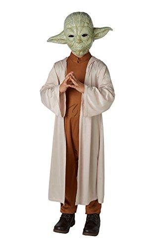 Lucas–st-630877s–Kostüm luxe Yoda mit Maske