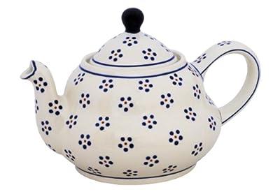 Bunzlauer keramik théière en céramique avec passoire intégrée 2 l (motif 1