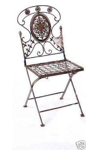 Nostalgischer Stuhl Avis H 90 cm Gartenstuhl