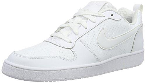 Nike COURT BOROUGH LOW - Scarpe da ginnastica Uomo, Bianco, 40