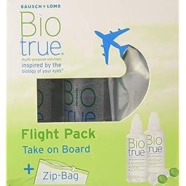Biotrue Soluzione per Lenti a Contatto Flight Pack – 2 x 60ml