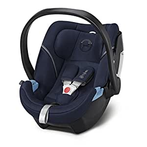 Cybex Gold Aton 5, Autositz Gruppe 0+ (0-13 kg), Kollektion 2017, midnight blue