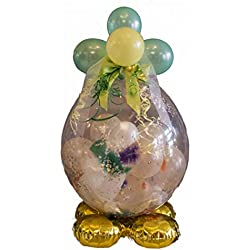 Befüllter Geschenkballon - das ideale Geschenk; Luxus-Version für Geburtstag, Hochzeit, Baby etc.