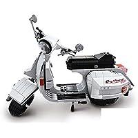 Scooter Girl Gelb Motorroller Aus Blech Mit Uhrwerk-antrieb