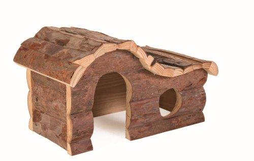 Blockhaus Dekor Für (Trixie 62051 Natural Living Hanna Blockhaus 26 × 16 × 15 cm)