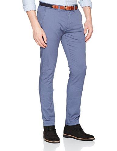 SELECTED HOMME Herren Hose Shhyard Vintage Indigo Slim ST Pant Noos, Blau (Vintage Indigo), W36/L32 (Herstellergröße: 36) (Baumwolle Slim Gürtel)