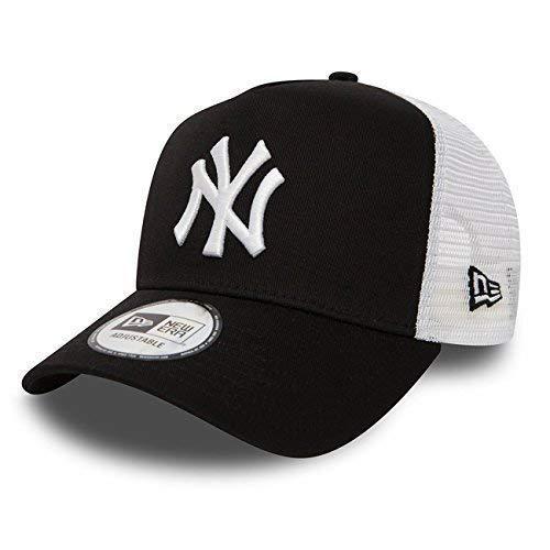 Imagen de new era  béisbol malla cap en el bundle con ud pañuelo new york yankees los angeles dodgers  ny black/blanco, osfa one size fits all