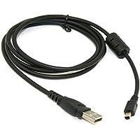 CY USB 2.0a mini 4pin cavo di sincronizzazione dati per Sony Digital Camera DSCS70S30e Olympus e Kodak - Scaricare Pin