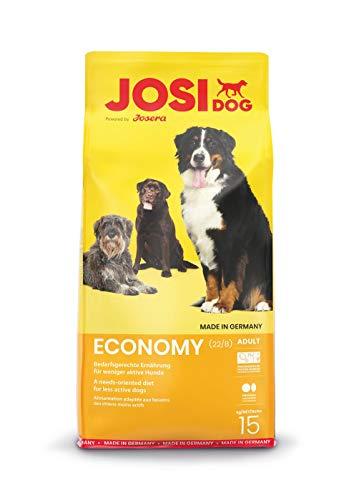 JosiDog Economy (1 x 15 kg) | Hundefutter für ausgewachsene Hunde | Trockenfutter | powered by JOSERA | 1er Pack