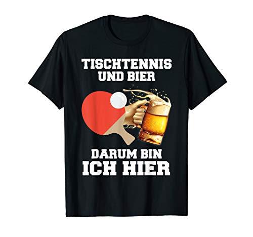 tischtennis und bier t-shirt T-Shirt - Bier Humor Grünes T-shirt