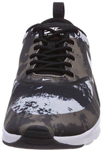 Nike - Air Max Thea Print, sneakers  da donna Nero(Schwarz (Black/White-Dark Grey))