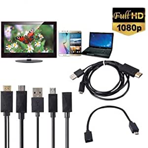 Generic MHL Micro USB to HDMI 1080P Media HD TV HDTV Cable Charger