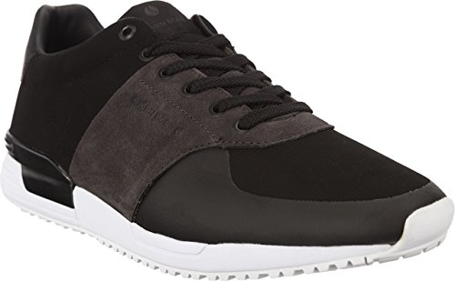 Bjorn Borg R100 LOW SNB M 0903 BLACK-DARK GREY Herren Turnschuhe (43, Black|Dark Grey) (Schuhe Borg)