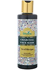 Divine India Charcoal Face Mask - 200 ml