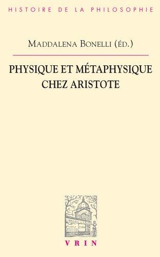 Physique et métaphysique chez Aristote