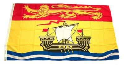Flagge Fahne Kanada - New Brunswick 90 x 150 cm FLAGGENMAE®