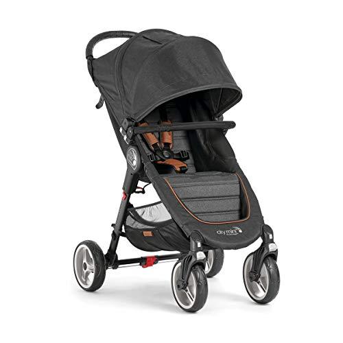 Passeggino Baby Jogger City Mini 4 decimo Anniversario BJ2051657 con barra anteriore inclusa e sistema di piegatura a una mano Quick-Fold