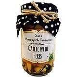 Sue's Homemade Preserves Garlic with Herbs 200 Grams