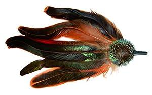 Plumas traje de alta calidad con acentos clásicos. Joyas de Baviera para el sombrero cabe Dirndl y Lederhosen