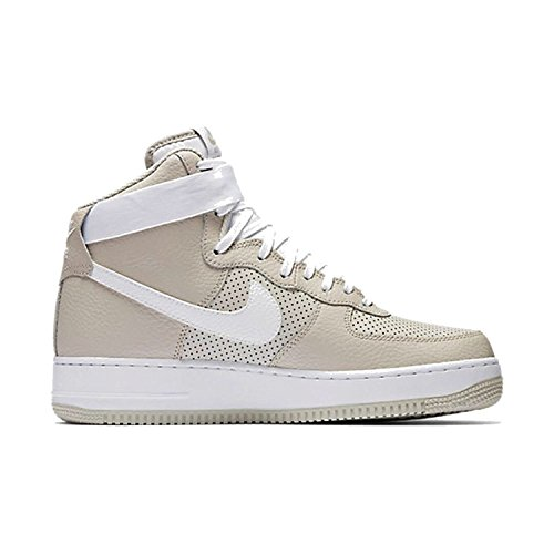Preisvergleich Produktbild Nike Mens Air Force 1 High 07 Basketball Shoe (11 (D)M US,  Pale Grey / White)