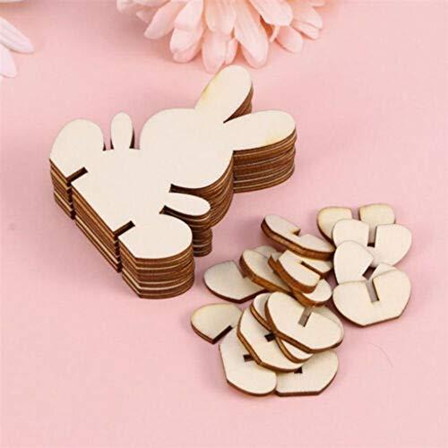 Gaddrt ciondoli fai da te conigli di legno di pasqua coniglio ornamenti di pasqua decorazioni