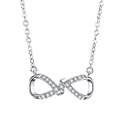 F.ZENI Kette Damen Halsketten 925 Sterling Silber