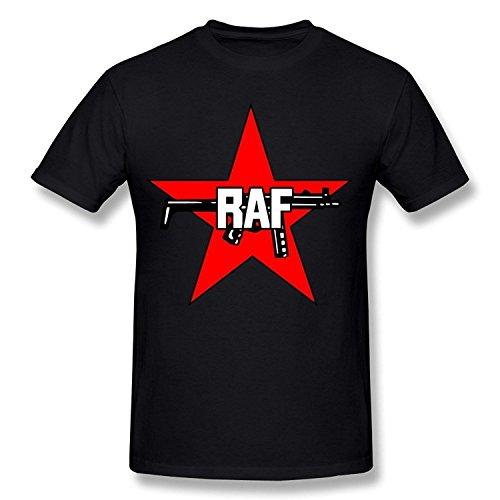 Herren's RAF Royal Air Force Logo T-shirt Large (Schwarz Force T-shirt Air)