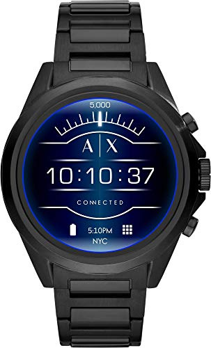Armani Exchange Orologio Digitale Uomo con Cinturino in Acciaio Inox AXT2002