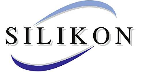 Wenko 2102167100 Gants de Cuisine Silicone Noir Lot de 2 Noir