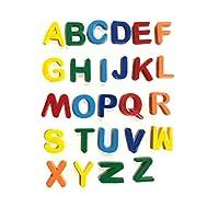 TP Magnetic Letters Alphabetic Fridge Magnets Full Alphabet A-Z UpperCase 3cm Large