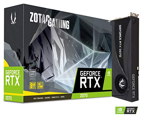Zotac Gaming GeForce RTX 2070 Blower 8GB GDDR6 256 Bit Dual Sloted Graphics Card