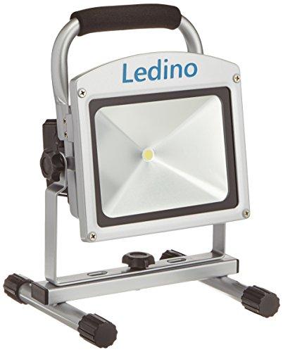 Ledino LED-Akkustrahler 20 W, Li-Ionen Akku 5,2 Ah, Philips-LEDs LED-FLAHP2005D