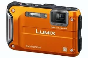 Panasonic DMC-FT4EF-D Lumix FT4 Appareil photo compact numérique 12 Mpix Zoom optique 4,6x Etanche 12m Orange