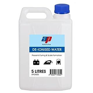 5 X AP Automotive De-Ionised Water Battery & Iron Top Distilled Aquariums Car Engine 5Ltr