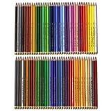 72 Polycolor Künstler Farbstifte feinster Qualität von KOH I NOOR + Holzbox