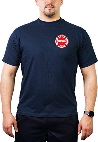 DEPT - Standard-Emblem auf der Brust- Feuerwehr von Chicago ()