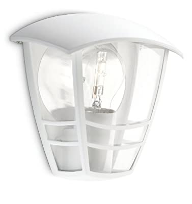 Philips MyGarden Creek Outdoor Wall Light (Requires 1 x 60 Watts E27 Bulb) - inexpensive UK wall light shop.