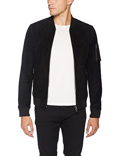 a0f13f23849290 SELECTED HOMME Herren Jacke Shnmick Suede Bomber Sts