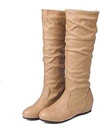 20c94602646 Amazon.es  del con - Piel   Botas   Zapatos para niña  Zapatos y ...